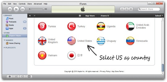 Change iTunes Store Country.jpeg